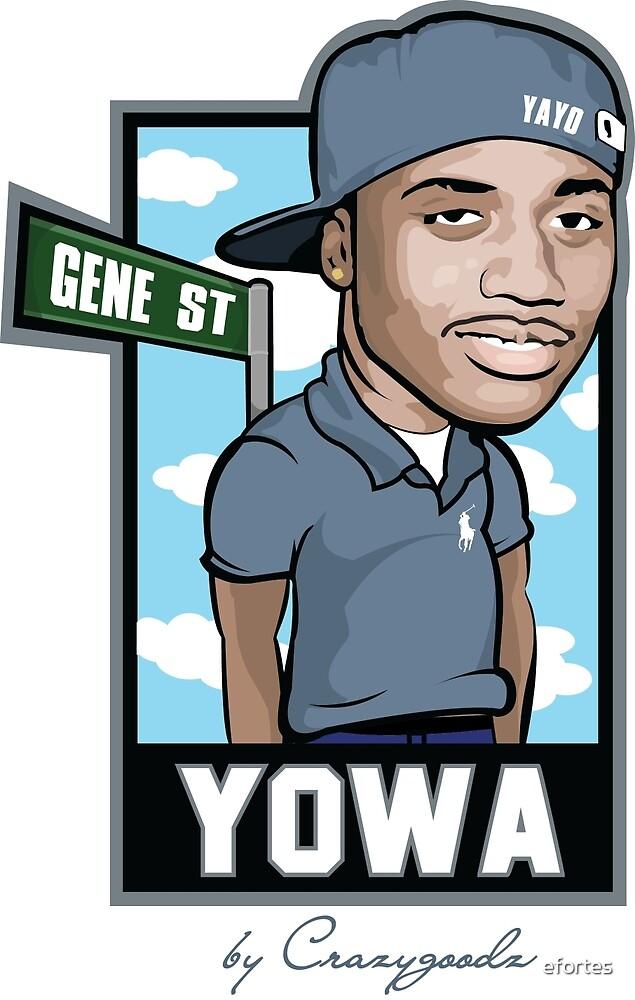 Yowa Cartoon by efortes