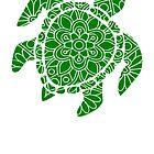 Animal Turtle Mandala von Skullz23