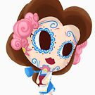 Bookish Muerto - Day of the Dead Sugar Skull by abowersock
