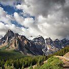 Valley of the Ten Peaks, Banff NP by Teresa Zieba