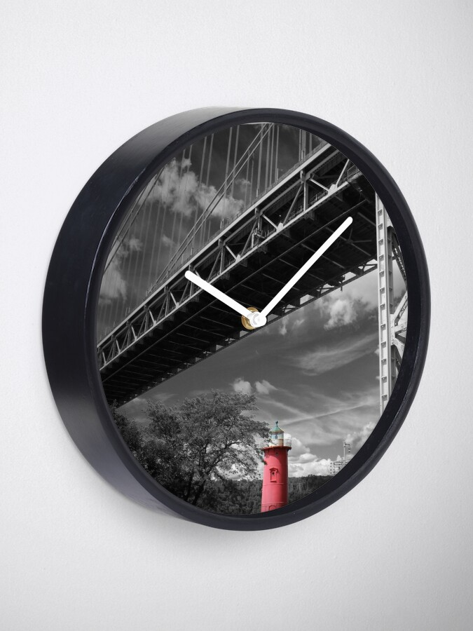 Alternate view of A MIghty Presence Clock