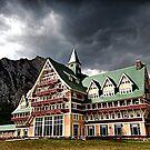 The Prince of Wales Hotel, Waterton Lakes NP by Teresa Zieba