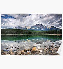 Patricia Lake, Jasper NP Poster