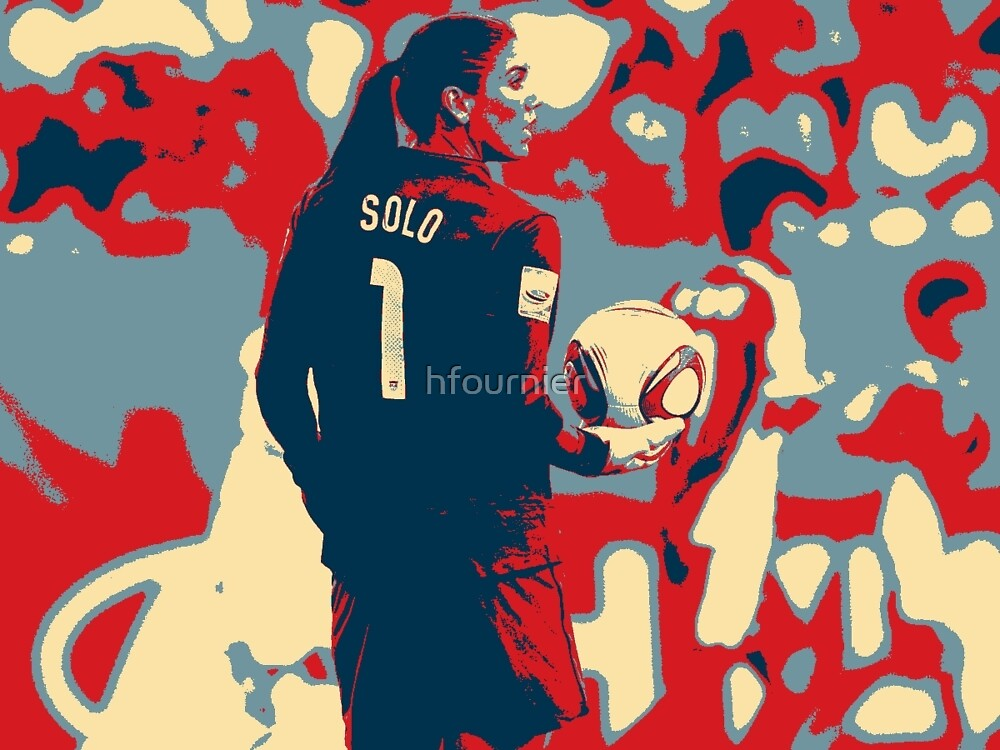 Hope Solo 2 by hfournier