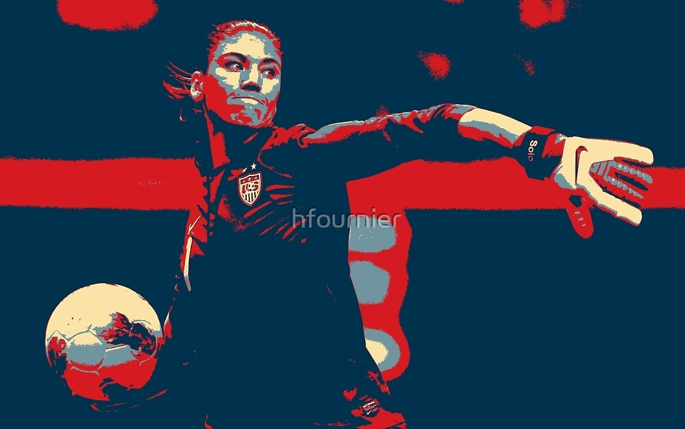 Hope Solo 3  by hfournier
