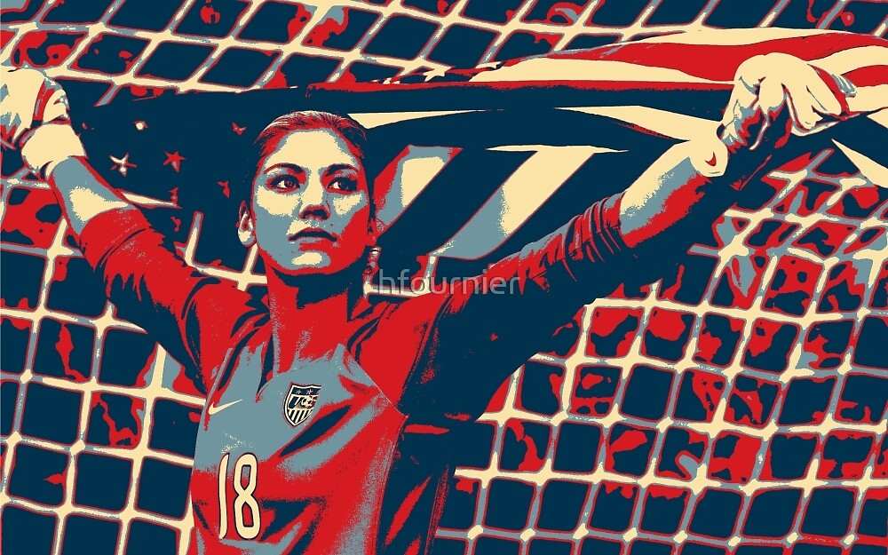 Hope Solo 6 by hfournier