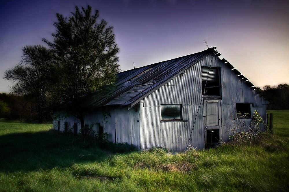 Metal Barn by Steve Leath