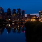Philadelphia Skyline by StudioEleven