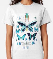 Teal Insect Collection Classic T-Shirt