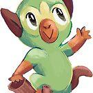 grass monkey funky munk by nickienac