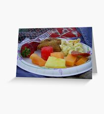 Fourth Of July Feast Greeting Card