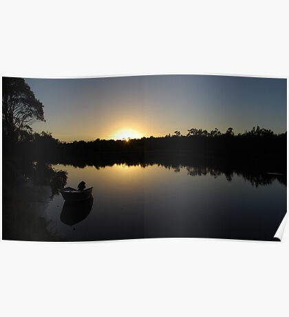 A new day at Worrell creek Poster