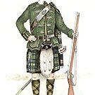 Greenock Highlander 1859 by Louie Pastore