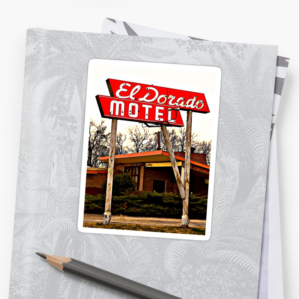 El Dorado Motel T-Shirt by Robert Howington