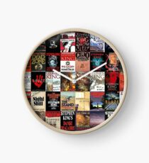 Stephen King Novels Clock