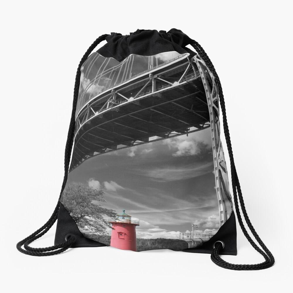 A MIghty Presence Drawstring Bag