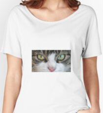 Cat Stare Down Women's Relaxed Fit T-Shirt