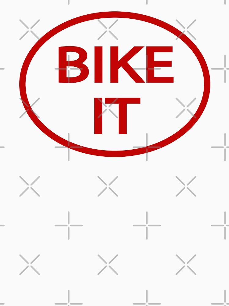 BIKE IT (as worn by John Deacon) by siggyspatsky