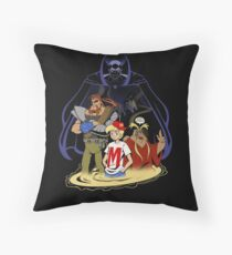 I Remember Rangoon Throw Pillow
