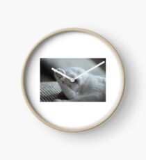 Cat OMG Clock