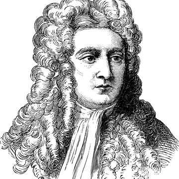 Isaac Newton by Cocotteetloulou