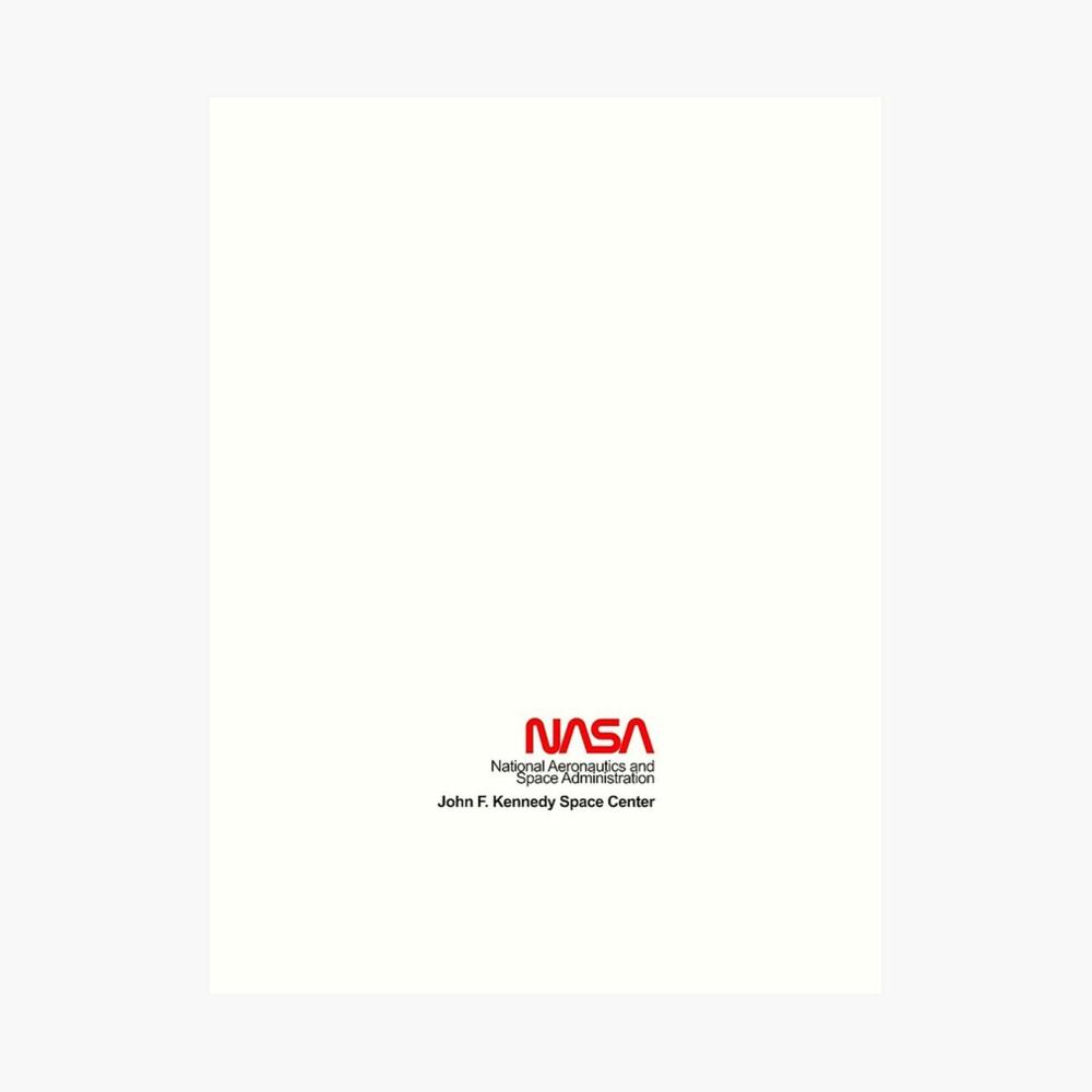 NASA x Vans (Space White) Kunstdruck