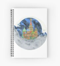 Russian Castle & Flying Castle Spiral Notebook