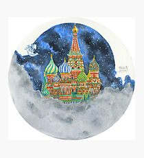 Russian Castle & Flying Castle Photographic Print
