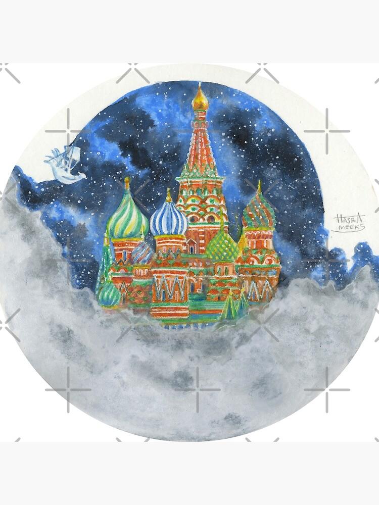 Russian Castle & Flying Castle by HajraMeeks