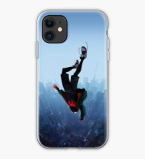 Miles Morales jump iPhone Case