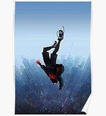 Miles Morales springen Poster