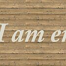 I am enough Banner by JuliaKHarwood