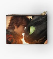 Hiccup and Toothless Studio Pouch