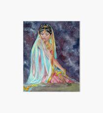 Shahrazade at Night Art Board Print