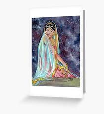 Shahrazade at Night Greeting Card