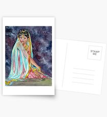 Shahrazade at Night Postcards
