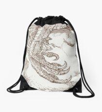 Sindbad & the Roc Drawstring Bag