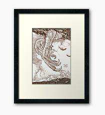 Sindbad & the Roc Framed Print