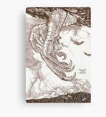 Sindbad & the Roc Canvas Print