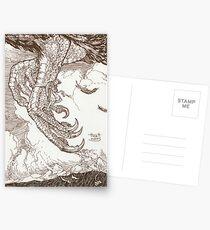 Sindbad & the Roc Postcards