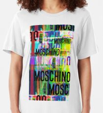 Moschino Art Collage Slim Fit T-Shirt
