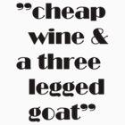 cheap wine by ralphyboy