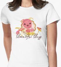 Beautiful Bugg Womens Fitted T-Shirt