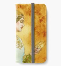 Lady Reading iPhone Wallet/Case/Skin