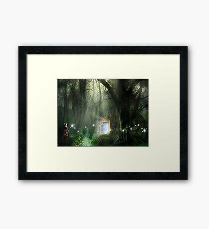 TIME TRAVELLERS Framed Print