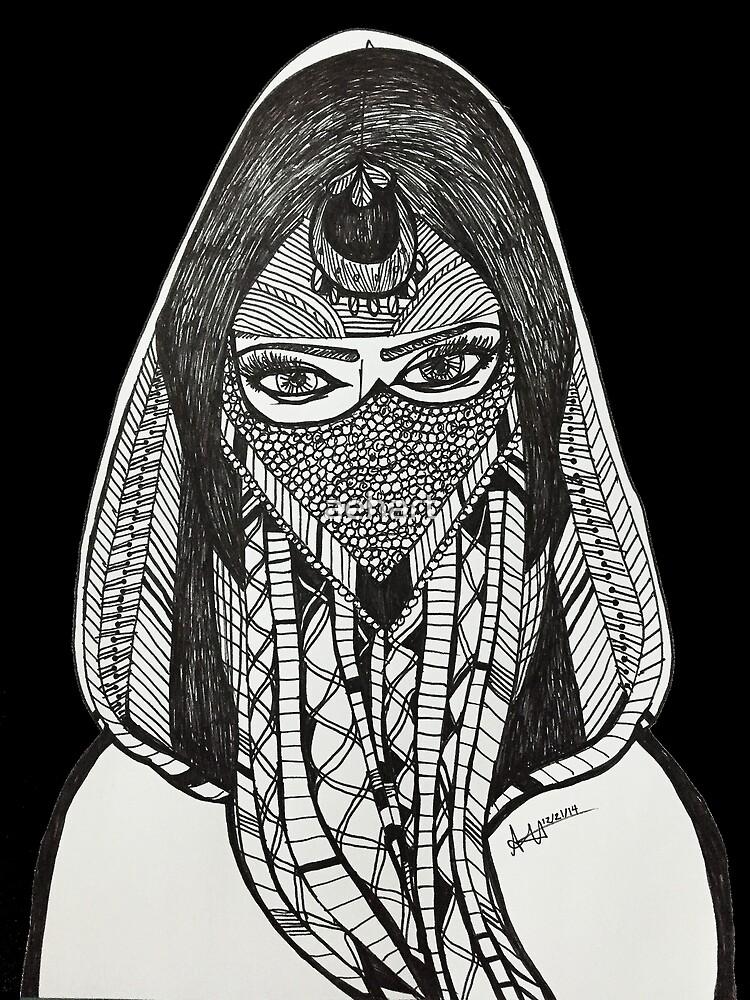Warrior Girl by aehart