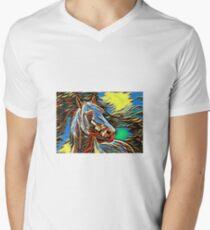 Illustration Men's V-Neck T-Shirt