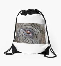 Elephant Eye Drawstring Bag
