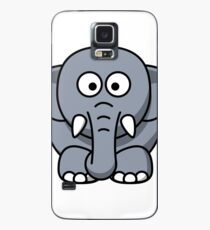 Elephant Illustration Case/Skin for Samsung Galaxy