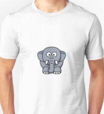 Elephant Illustration Unisex T-Shirt